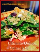 Ultimate Spinach Salad, easy, healthy, and gluten-free.  Via @bcnutritionista