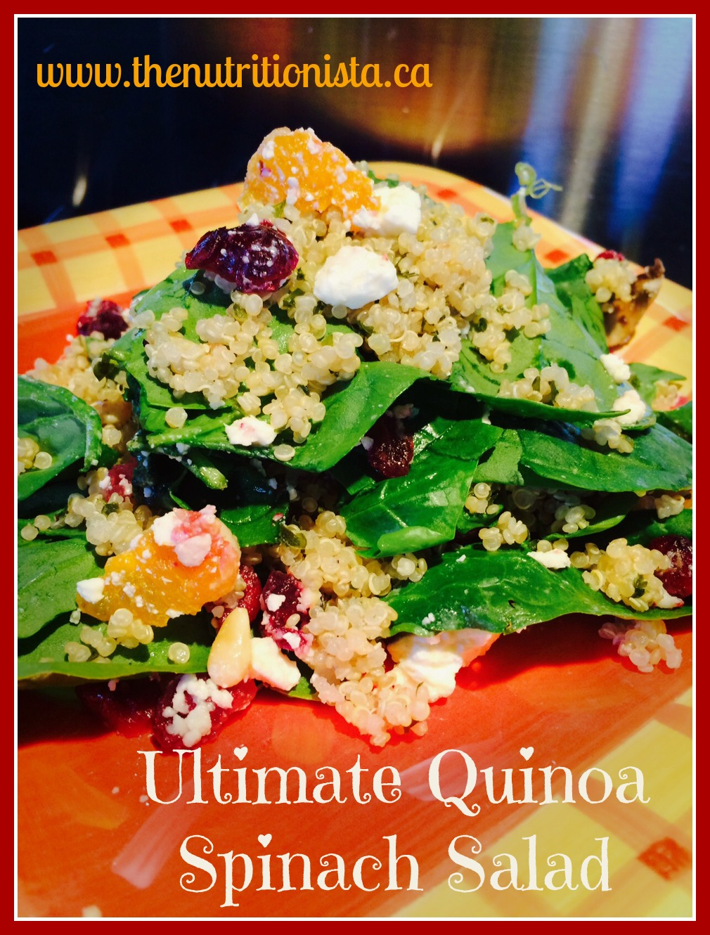 Ultimate Spinach Salad, easy, healthy, and gluten-free. Via @ ...