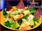 I want to eat this healthy taco salad every day! I also love the healthy Ranch dressing (vegan) recipe. Via @bcnutritionista