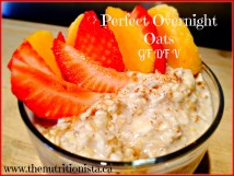 The perfect gluten free overnight oats. Via @bcnutritionista