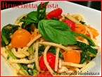Ultimate gluten free bruschetta pasta - ready in 15 minutes