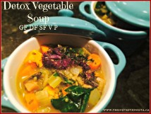 The most delicious immune supporting detox vegetable soup