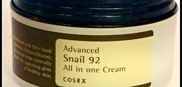 Cosrx Advanced Snail 92 All in One Cream Review . Via @bcnutritionista